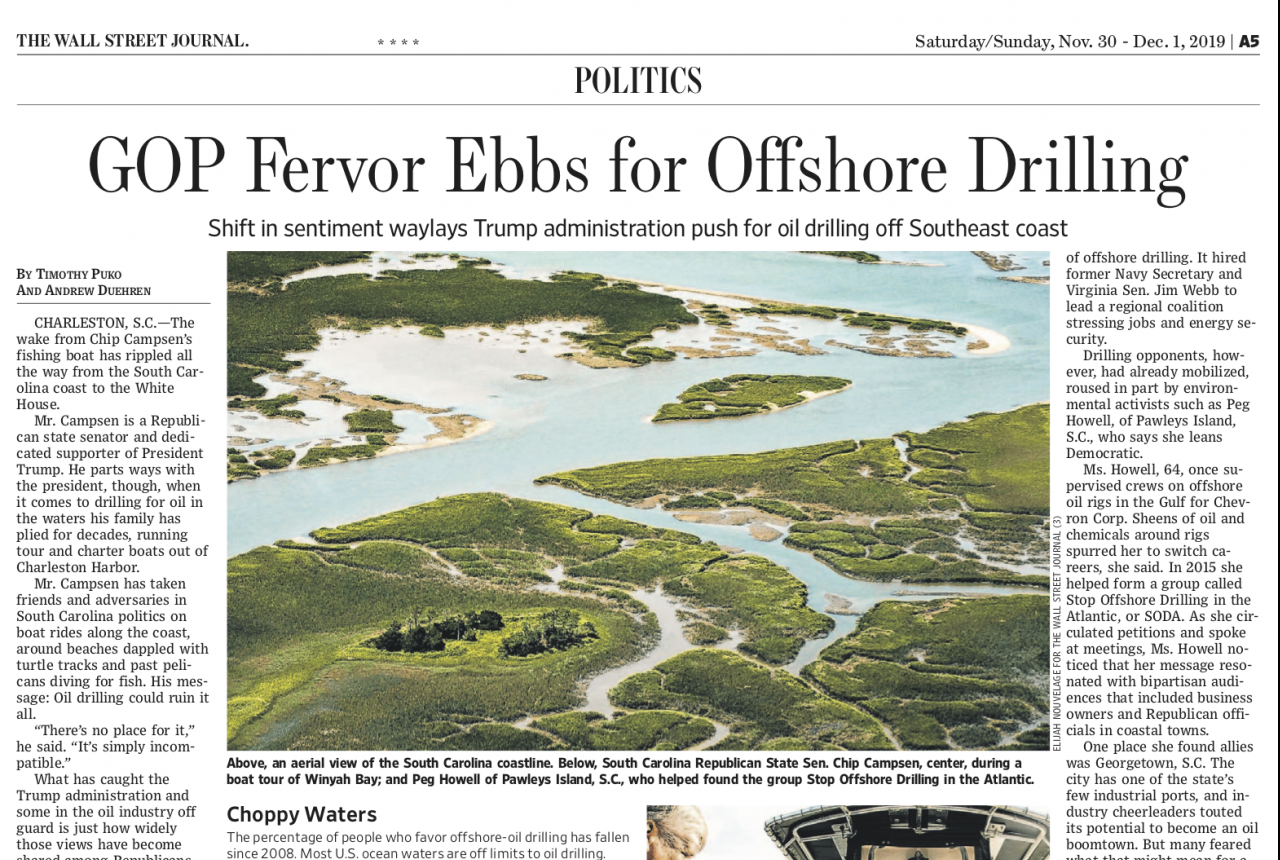 Print Version – GOP Fervor Ebbs for Offshore Drilling (1)
